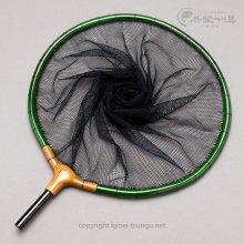 【竿春工房】山伏 網付天然玉枠(尺サイズ) 深緑