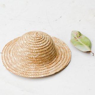 麦わら帽子 丸型 17cm