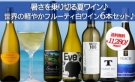 【送料無料】【アイスバッグ付き】暑さを乗り切る夏ワイン♪世界の軽やかフルーティ白ワイン6本セット♪
