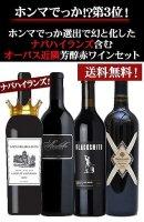 【送料無料!】ナパハイランズ含む!ナパの魅力を詰め込んだオーパス近隣芳醇赤ワイン4本セット