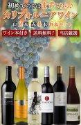 【送料無料!!】【ワイン本付き】カリフォルニアを知る ★☆おススメ☆★ 赤白6本セット!