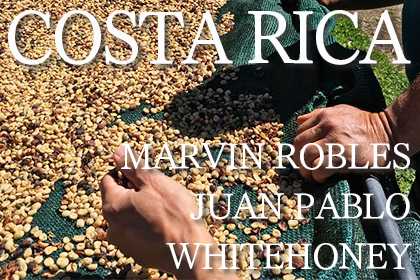 COSTA RICA MARVIN ROBLES JUAN PABLO WHITEHONEY