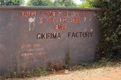 KENYA / GIKIRIMA AA DARKROAST(ケニア ギキリマファクトリー AA 深煎り)