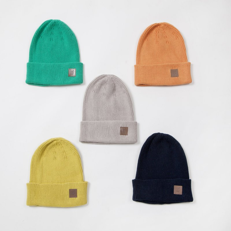 〈MASACA HAT〉COTTON KNIT CAP