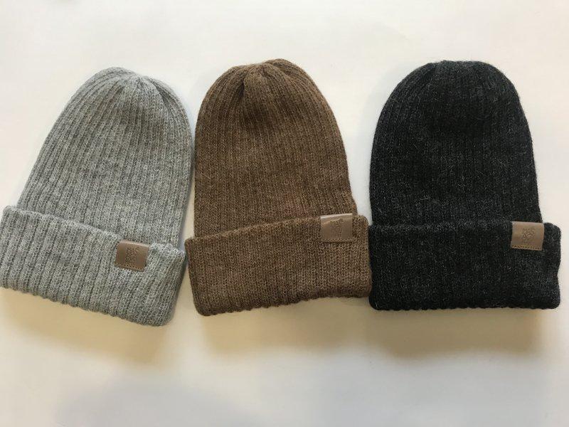 〈MASACA HAT〉BABY ALPACA KNIT CAP