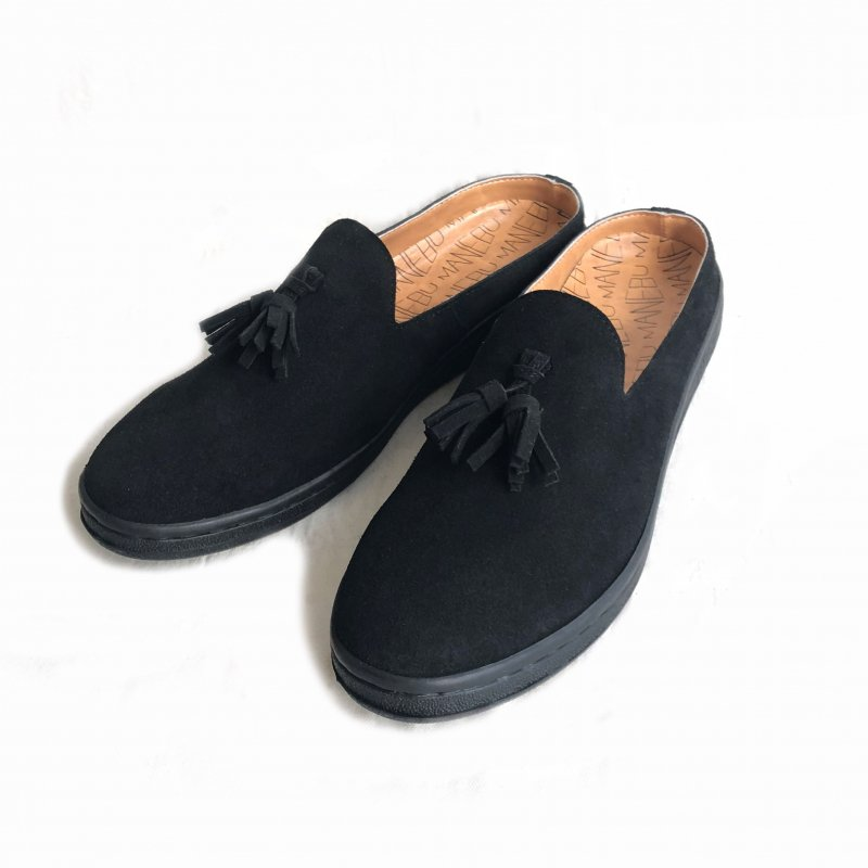 "〈MANEBU〉""PRAN SLIPPER"" SUEDE(LADIES)"
