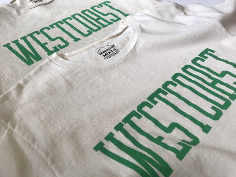"〈MIXTA〉""WEST COAST"" CREW NECK T-SHIRTS"