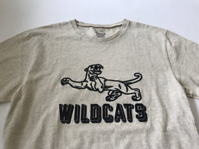 "〈MIXTA〉""WILD CATS"" CREW NECK T-SHIRTS"