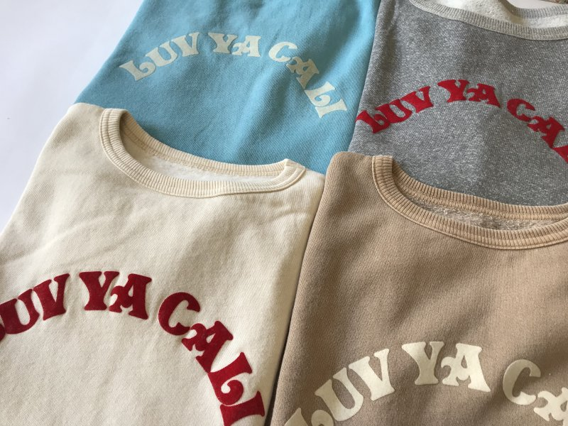 "〈MIXTA〉""LUV YA CALI""  SHORT SLEEVE SWEAT"