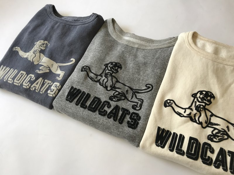 "〈MIXTA〉""WILD CAT""  SHORT SLEEVE SWEAT"