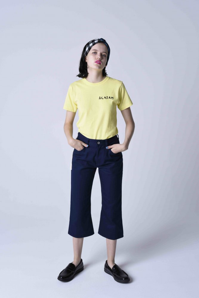 ACASAM CROPPED FLARE PANTS