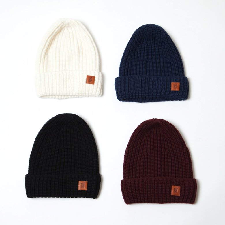 <img class='new_mark_img1' src='https://img.shop-pro.jp/img/new/icons20.gif' style='border:none;display:inline;margin:0px;padding:0px;width:auto;' />〈MASACA HAT〉WOOL RIBKNIT CAP