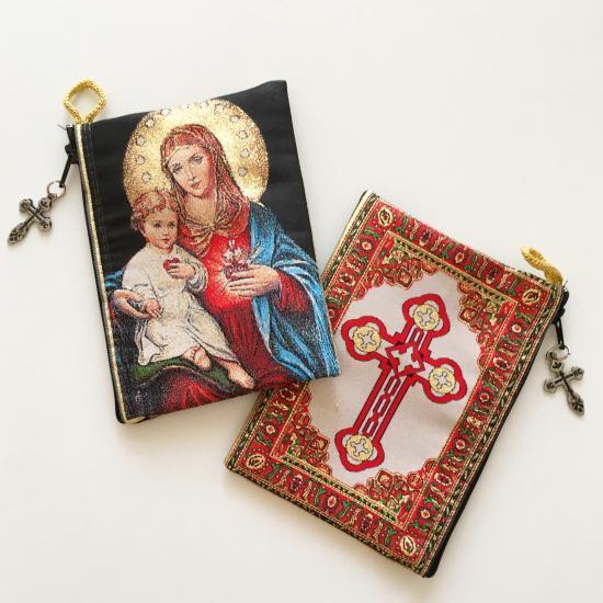 マリアさまとイエスさまのポーチ