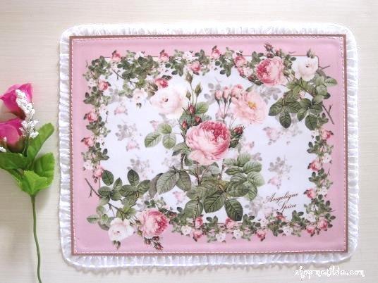 薔薇のマウスパッド