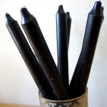 テーブルキャンドル ブラック2