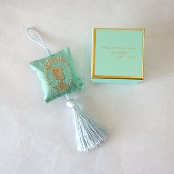 coussin tassel cameo turquoise4