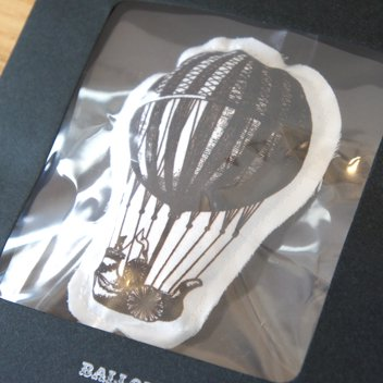 Sachet Ornament Ballon
