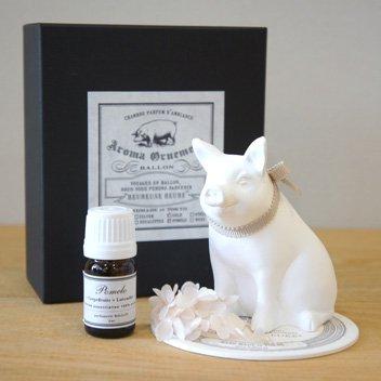 Animal Motif  Little Pig (Gold)4