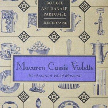 コンフィズリーキャンドル Macaron Cassis Violette4