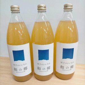 【りんご搾りました!!】青森たっこの無添加りんごジュース 1000ml 3本セット