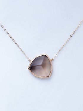 pimi necklace(smoky quartz)