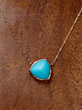 pimi necklace(amazonite)
