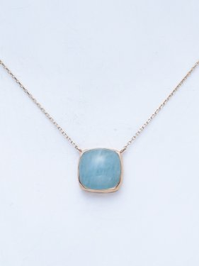 tova necklace 〜aquamarine〜