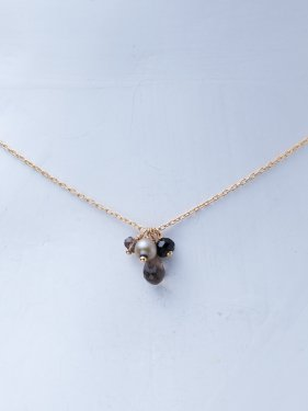 K18 petit classic chocolate necklace 〜happy sweets〜