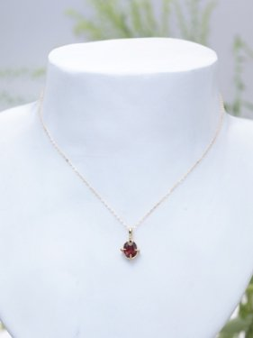 <img class='new_mark_img1' src='//img.shop-pro.jp/img/new/icons14.gif' style='border:none;display:inline;margin:0px;padding:0px;width:auto;' />K18 CORN pendant top ~garnet~