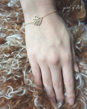 K18 Arabesque bracelet  ~square~