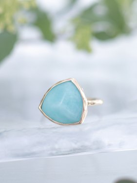 pimi ring(amazonite)
