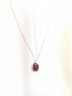 <img class='new_mark_img1' src='//img.shop-pro.jp/img/new/icons14.gif' style='border:none;display:inline;margin:0px;padding:0px;width:auto;' />K18 garnet pendant top