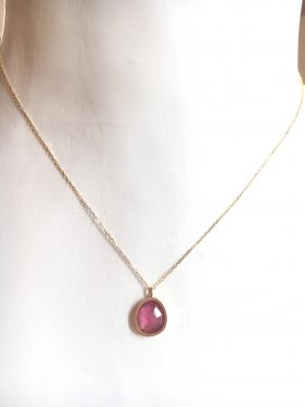 <img class='new_mark_img1' src='//img.shop-pro.jp/img/new/icons47.gif' style='border:none;display:inline;margin:0px;padding:0px;width:auto;' />K18 pink sapphire pendant top