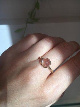 【ドラマ衣装】Lady buzz Ring ~quartz ~(パールオプション有)
