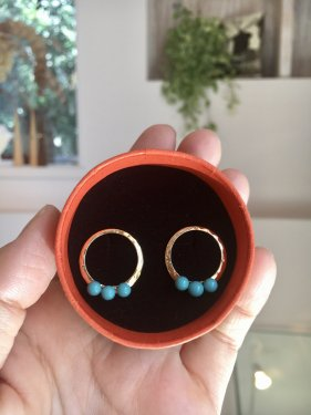 【CM衣装】fen pierce 〜turquoise〜