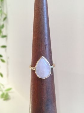 frop ring (rose quartz)