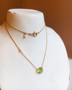 <img class='new_mark_img1' src='https://img.shop-pro.jp/img/new/icons14.gif' style='border:none;display:inline;margin:0px;padding:0px;width:auto;' />K10  peridot  necklace 〜K18取替可能〜