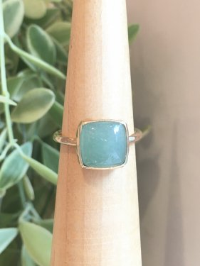 【1点物】K10 tova  Ring 〜green aventurine〜