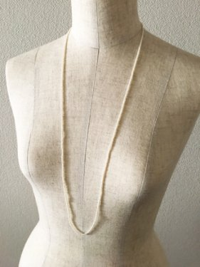 tinyperl short necklace (80cm)