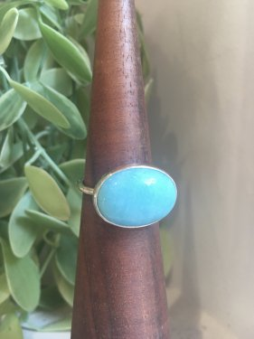 【ドラマ衣装】maqusa Ring 〜amazonite〜