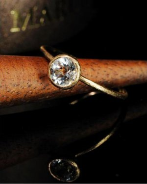te Ring 〜white topaz〜