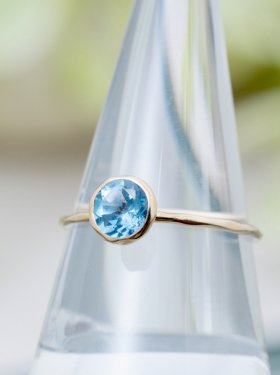 te Ring 〜blue topaz〜