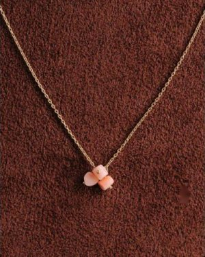 pink coral UMAMUI necklace