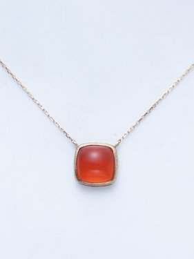 tova necklace 〜carnelian〜