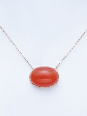 maqusa necklace 〜carnelian〜