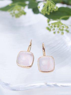 tova pierce〜rose quartz〜(イヤリング変更可能)