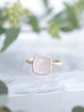 tova  ring 〜rose quartz〜