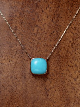 tova necklace 〜amazonite〜