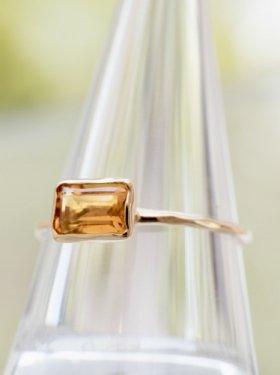 ASHI & SHI  ring ~citrine~