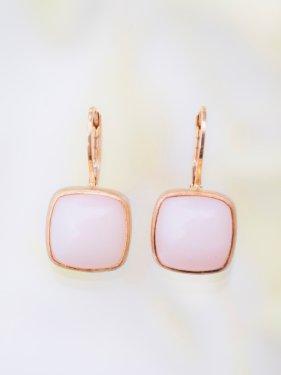 tova pierce〜 pink opal〜(イヤリング変更可能)
